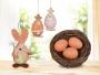 VEĽKONOČNÉ vajíčko sada prírodné tóny
