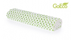 GOECO slamky zeleno-biele