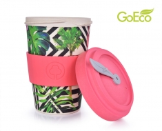 GOECO tropical flamingo pohár