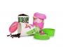 GOECO tropical flamingo pohár