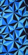 MULTIFUNKČNÁ šatka modrá s origami