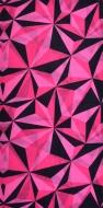 MULTIFUNKČNÁ šatka ružové origami