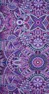 MULTIFUNKČNÁ šatka lila mandala