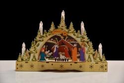 BETLEHEM s dekoratívnymi sviečkami