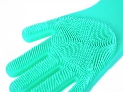 SILIKÓNOVÁ rukavica na umývanie povrchov