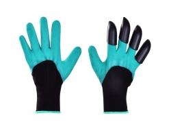 PRACOVNÉ rukavice na hrabanie