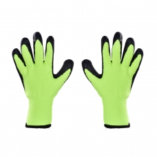 PÁNSKE pracovné rukavice zelené
