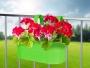 ZÁVESNÝ kvetináč zelený