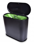 TOUCH & OPEN dotykový odpadkový kôš čierny