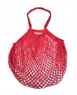 SIEŤOVKA štýlová nákupná taška červená