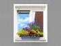 SAMOZAVLAŽOVACÍ kvetináč šedý