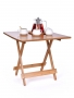 GOECO skladací bambusový stolík