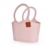 FLOWER štýlová taška ružová