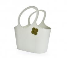 FLOWER štýlová taška olivová