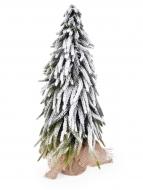 ZASNEŽENÝ stromček výška 52 cm