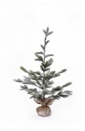 ZASNEŽENÝ stromček výška 90 cm