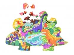 PUZZLE dinosaurov SVET
