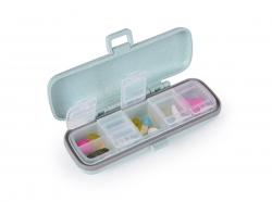 GOECO zásobník na lieky a vitamíny mentolový