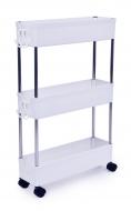 SLIM STEEL 3-poschodový regál do úzkych priestorov