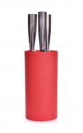 CARBONIT stojan na nože červený