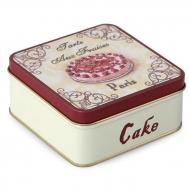 CAKE kovová dóza výška 4,9 cm