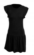TAINY krátke šaty čierne