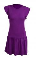 TAINY krátke šaty fialové