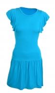 TAINY krátke šaty tyrkysové