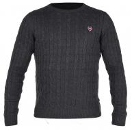 COTTON LÉGER sveter šedý