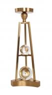 ZEN nerezový svietnik výška 43,5 cm