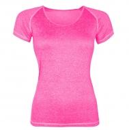 ŠPORTOVÉ tričko ružové melange