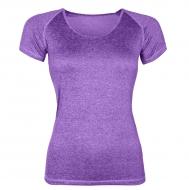ŠPORTOVÉ tričko fialové melange