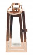 NEREZOVÝ svietnik medený výška 22 cm