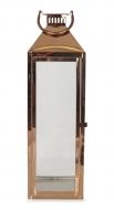 NEREZOVÝ svietnik medený výška 61 cm