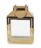 NEREZOVÝ svietnik zlatý výška 30 cm