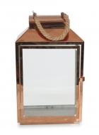 NEREZOVÝ svietnik medený výška 44 cm