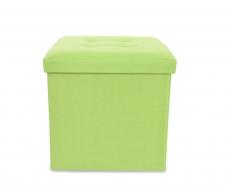 TABURETKA hráškovo - zelená veľkosť L