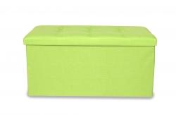 TABURETKA hráškovo - zelená veľkosť XL
