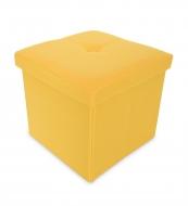 TABURETKA žltá veľkosť M
