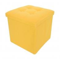 TABURETKA žltá veľkosť L