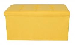 TABURETKA žltá veľkosť XL