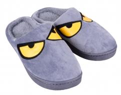 REBELITO domáce papuče šedé