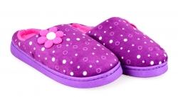 KIKISTAR domáce papuče fialovo - ružové