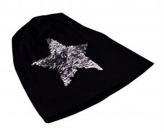 STAR čiapka čierna