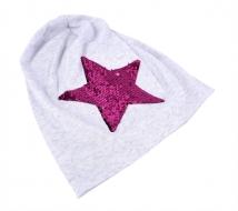 STAR čiapka šedá