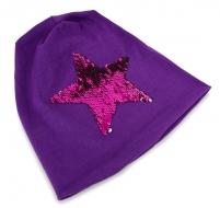 STAR čiapka fialová