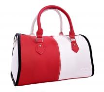 MYSTIQUE kabelka červeno - biela