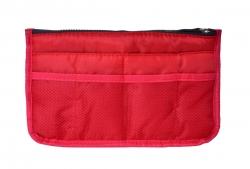 ORGANIZÉR do kabelky alebo tašky červený