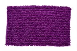 3D CORAL kúpeľňová predložka tmavo - fialová