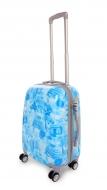 CITIES BLUE cestovný kufor malý
